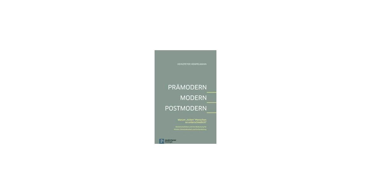 Prämodern Modern Postmodern Hempelmann 2013 Buch Beck Shopde