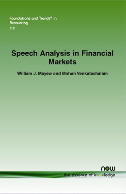 Abbildung von Mayew / Venkatachalam | Speech Analysis in Financial Markets | 2013 | 23