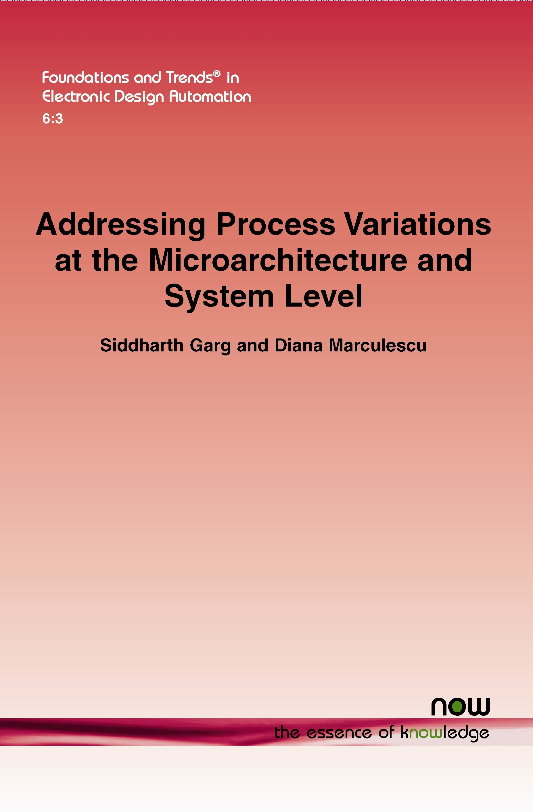Abbildung von Garg / Marculescu | Addressing Process Variations At the Microarchitecture and System Level | 2013