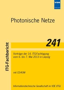 Abbildung von Photonische Netze | Neuerscheinung | 2013 | Vorträge der 14. ITG-Fachtagun...