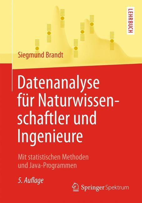 Datenanalyse für Naturwissenschaftler und Ingenieure | Brandt, 2013 | Buch (Cover)