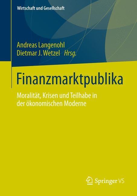 Abbildung von Langenohl / Wetzel | Finanzmarktpublika | 1. Auflage 2014 | 2013