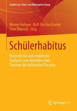 Abbildung von Helsper / Kramer | Schülerhabitus | 1. Auflage | 2013 | 50 | beck-shop.de