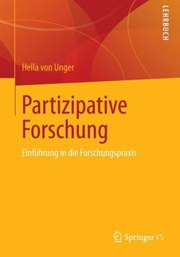 Abbildung von Unger | Partizipative Forschung | 2013 | Einführung in die Forschungspr...