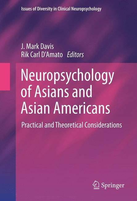 Abbildung von Davis / D'Amato | Neuropsychology of Asians and Asian-Americans | 2013