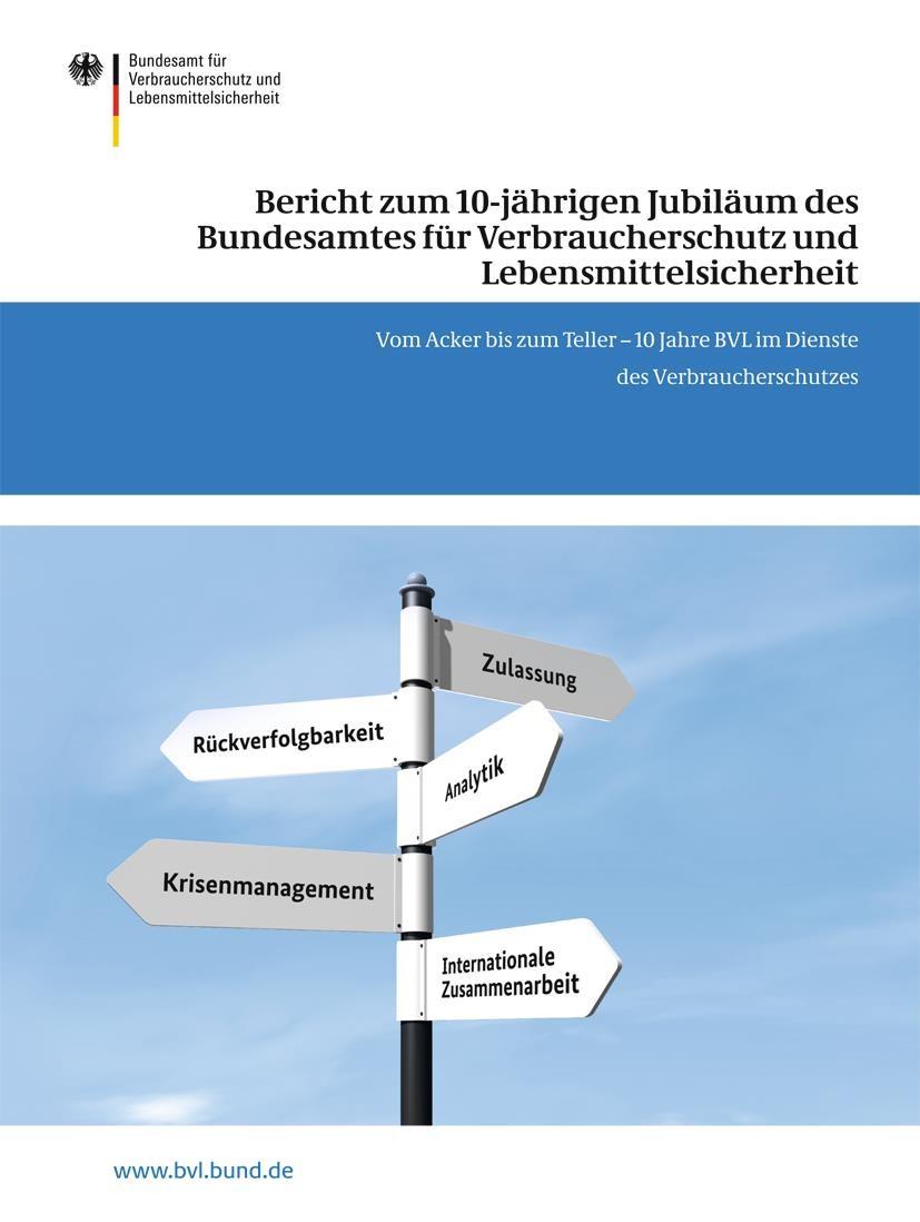 Abbildung von Dombrowski   Bericht zum 10-jährigen Jubiläum des Bundesamtes für Verbraucherschutz und Lebensmittelsicherheit   2013