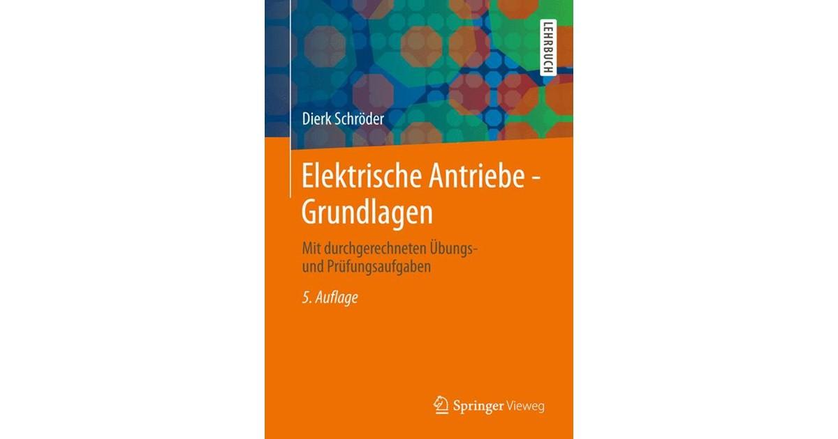 Elektrische Antriebe - Grundlagen   Schröder, 2013   Buch   beck-shop.de