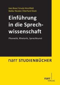 Einführung in die Sprechwissenschaft | Bose / Hirschfeld / Neuber, 2013 | Buch (Cover)