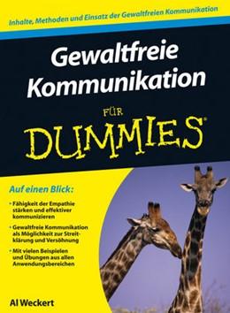 Abbildung von Weckert | Gewaltfreie Kommunikation für Dummies | 2013