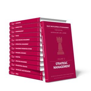 Abbildung von Cooper | Wiley Encyclopedia of Management | 2014