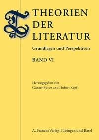 Abbildung von Butzer / Zapf | Theorien der Literatur | 2013