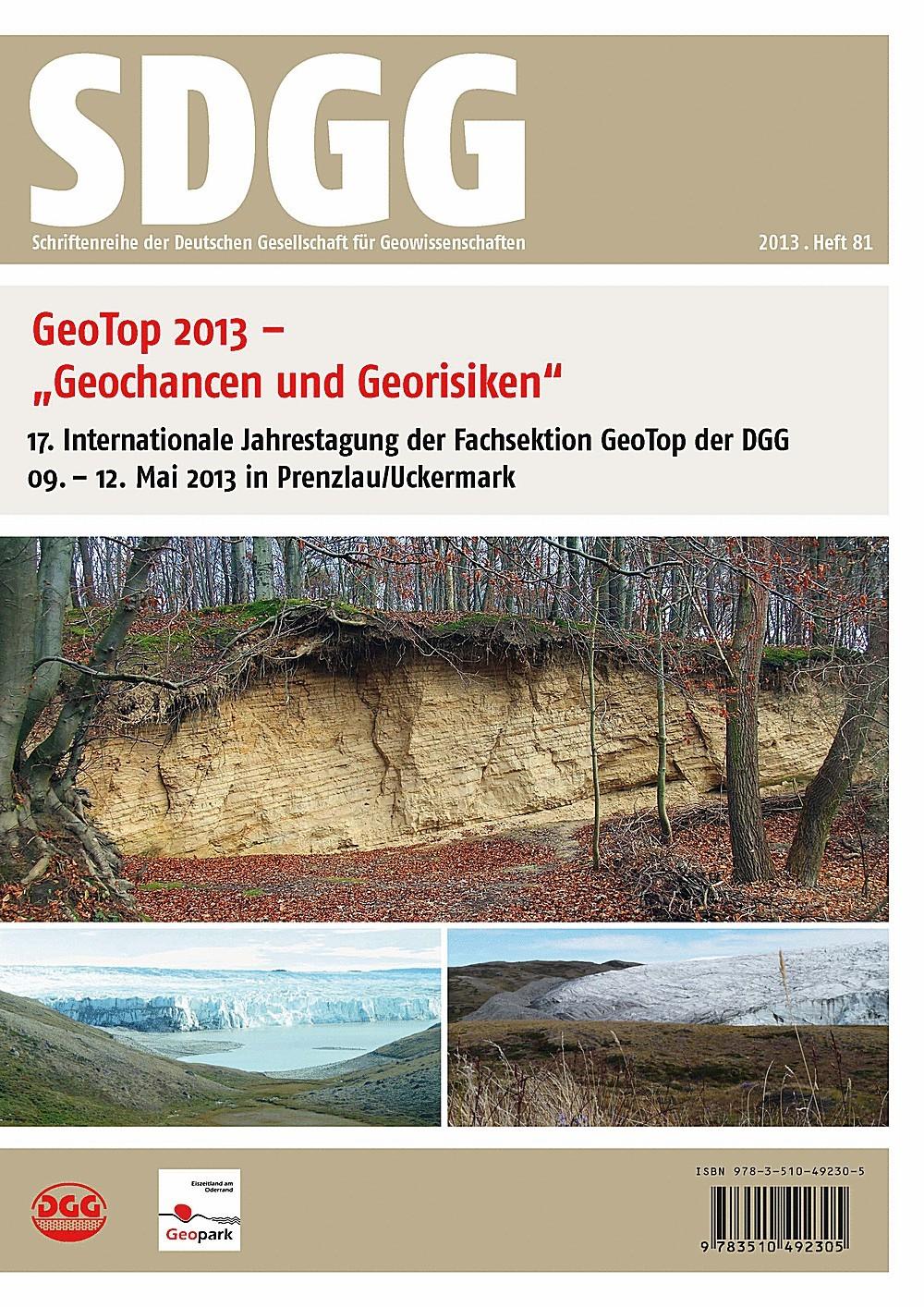 Abbildung von Stackebrandt / Röhling | Geotop 2013 - Geochancen und Georisiken | 2013