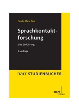 Abbildung von Riehl | Sprachkontaktforschung | 3., überarbeitete | 2013