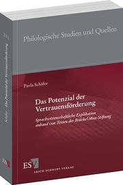 Abbildung von Schäfer | Das Potenzial der Vertrauensförderung | 2013
