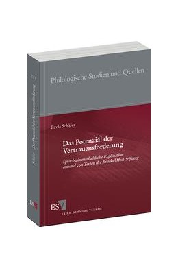 Abbildung von Schäfer | Das Potenzial der Vertrauensförderung | 2013 | Sprachwissenschaftliche Explik... | 243