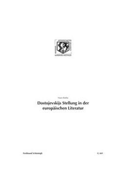 Abbildung von Rothe   Dostojevskijs Stellung in der europäischen Literatur   2013   441