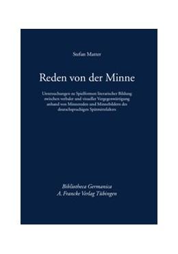 Abbildung von Matter | Reden von der Minne | 2013 | Untersuchungen zu Spielformen ... | 59