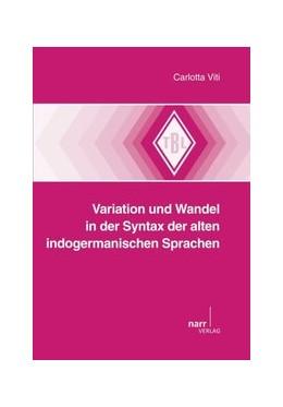 Abbildung von Viti   Variation und Wandel in der Syntax der alten indogermanischen Sprachen   2015   542