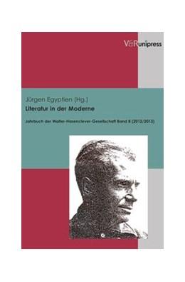 Abbildung von Egyptien   Literatur in der Moderne   2013   Jahrbuch der Walter-Hasencleve...   Jahr 2012/2013