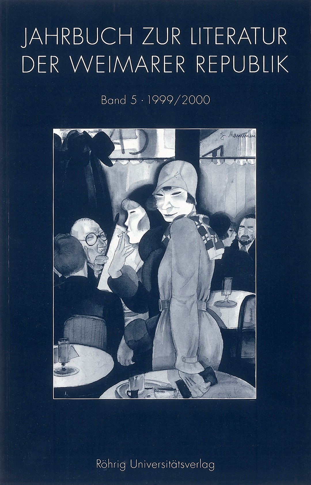 JAHRBUCH ZUR KULTUR UND LITERATUR DER WEIMARER REPUBLIK, 2000 | Buch (Cover)