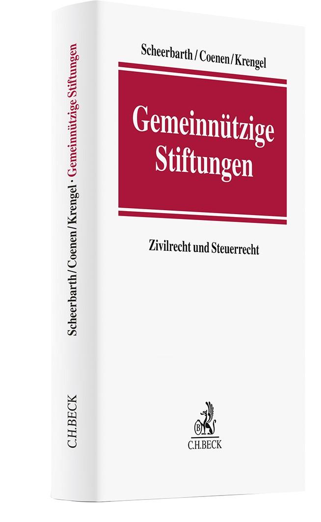 Gemeinnützige Stiftungen | Scheerbarth / Schimpfky / Zitzelsberger, 2019 | Buch (Cover)