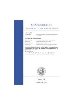 Abbildung von Rapoport / Gunga / Klare | Leibniztag 2012 | 2013 | 114