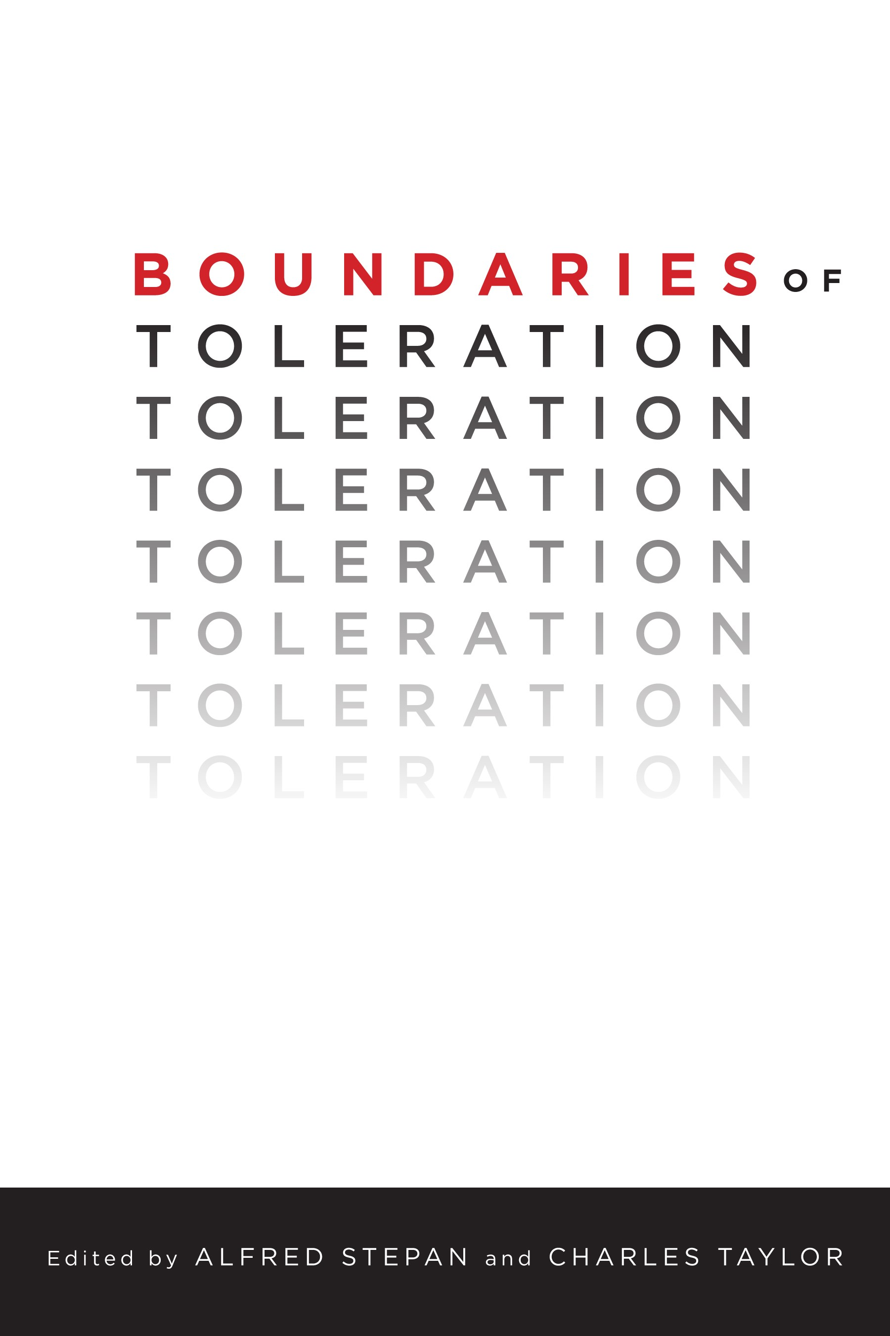 Abbildung von Stepan / Taylor | Boundaries of Toleration | 2014