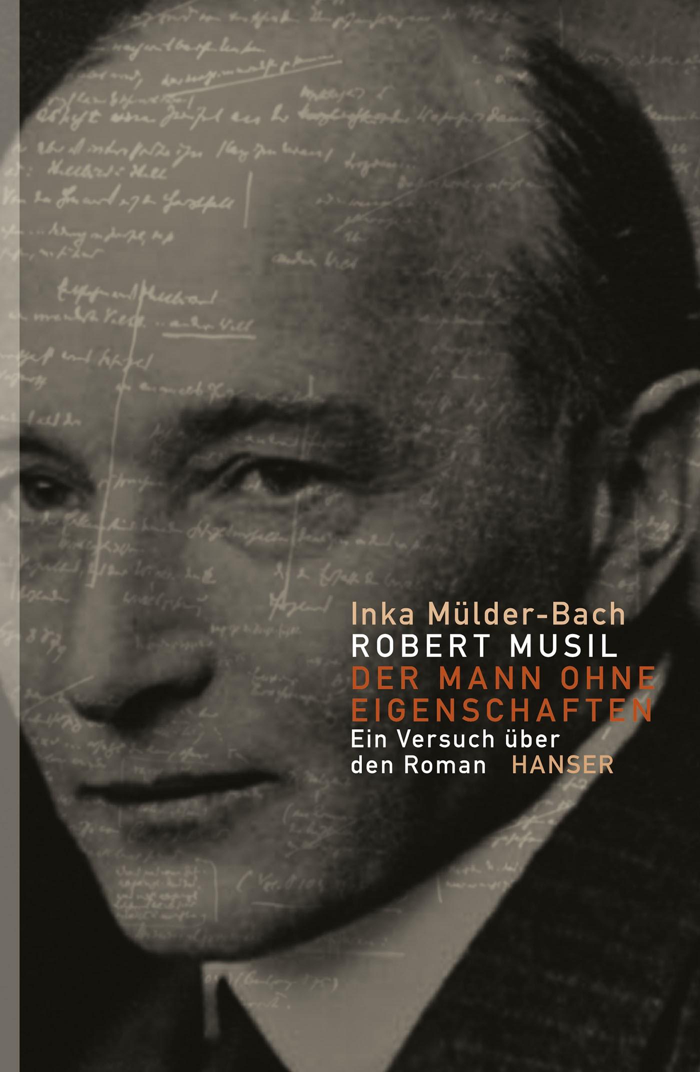 Robert Musil: Der Mann ohne Eigenschaften   Mülder-Bach, 2013   Buch (Cover)