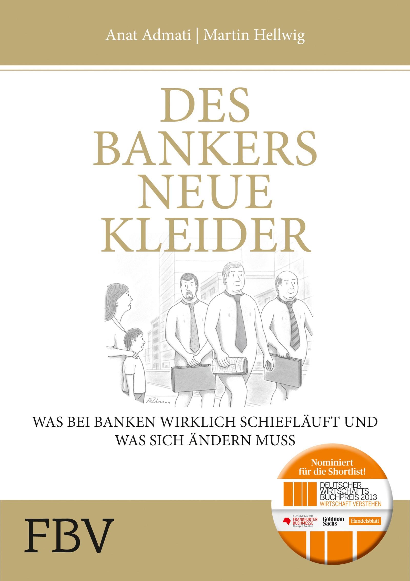 Abbildung von Admati / Hellwig   Des Bankers neue Kleider   2013