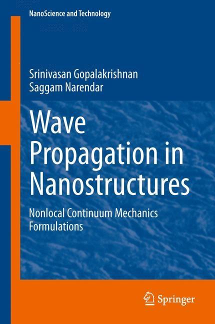 Abbildung von Gopalakrishnan / Narendar | Wave Propagation in Nanostructures | 2013
