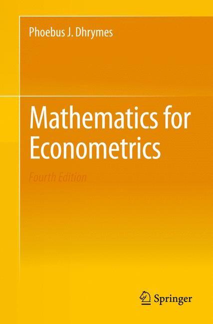 Abbildung von Dhrymes | Mathematics for Econometrics | 2013
