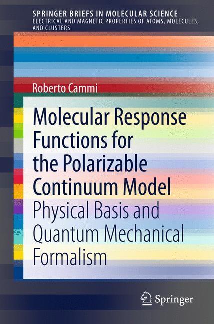 Abbildung von Cammi | Molecular Response Functions for the Polarizable Continuum Model | 2013