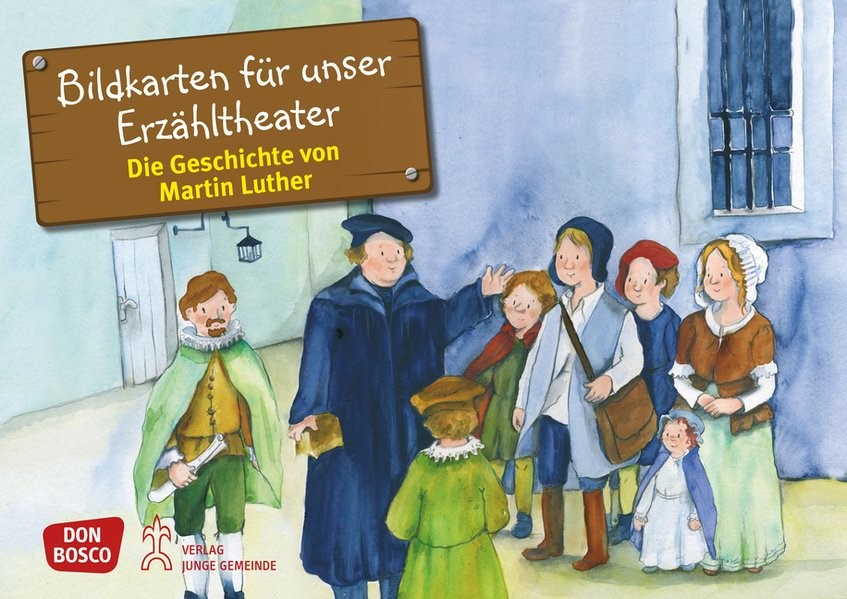 Bildkarten für unser Erzähltheater: Die Geschichte von Martin Luther | Brandt, 2013 | Buch (Cover)