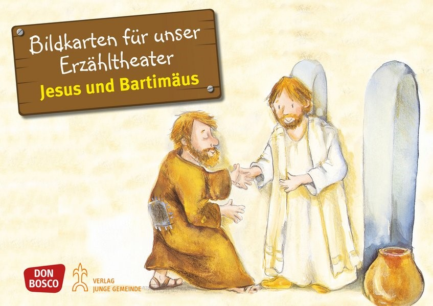 Bildkarten für unser Erzähltheater: Jesus und Bartimäus | Brandt / Nommensen, 2013 | Buch (Cover)
