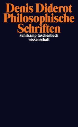 Abbildung von Diderot / Becker | Philosophische Schriften | Originalausgabe | 2013 | 2084