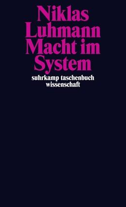 Abbildung von Luhmann / Kieserling   Macht im System   1. Auflage   2013   2089   beck-shop.de