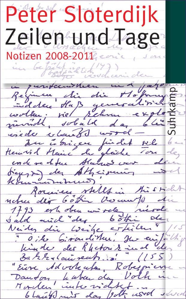 Abbildung von Sloterdijk | Zeilen und Tage | 2013