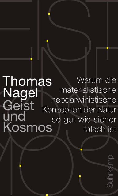 Abbildung von Nagel   Geist und Kosmos   2013