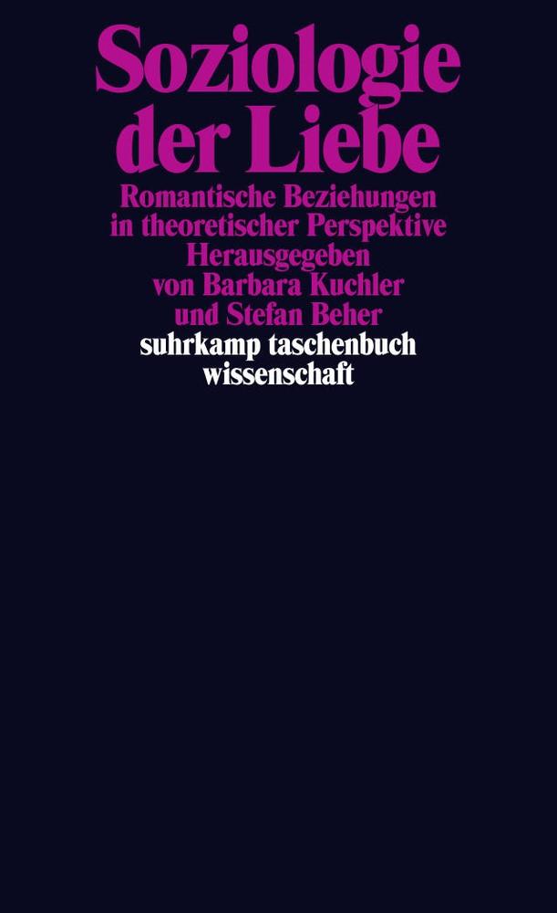 Abbildung von Kuchler / Beher | Soziologie der Liebe | Originalausgabe | 2014