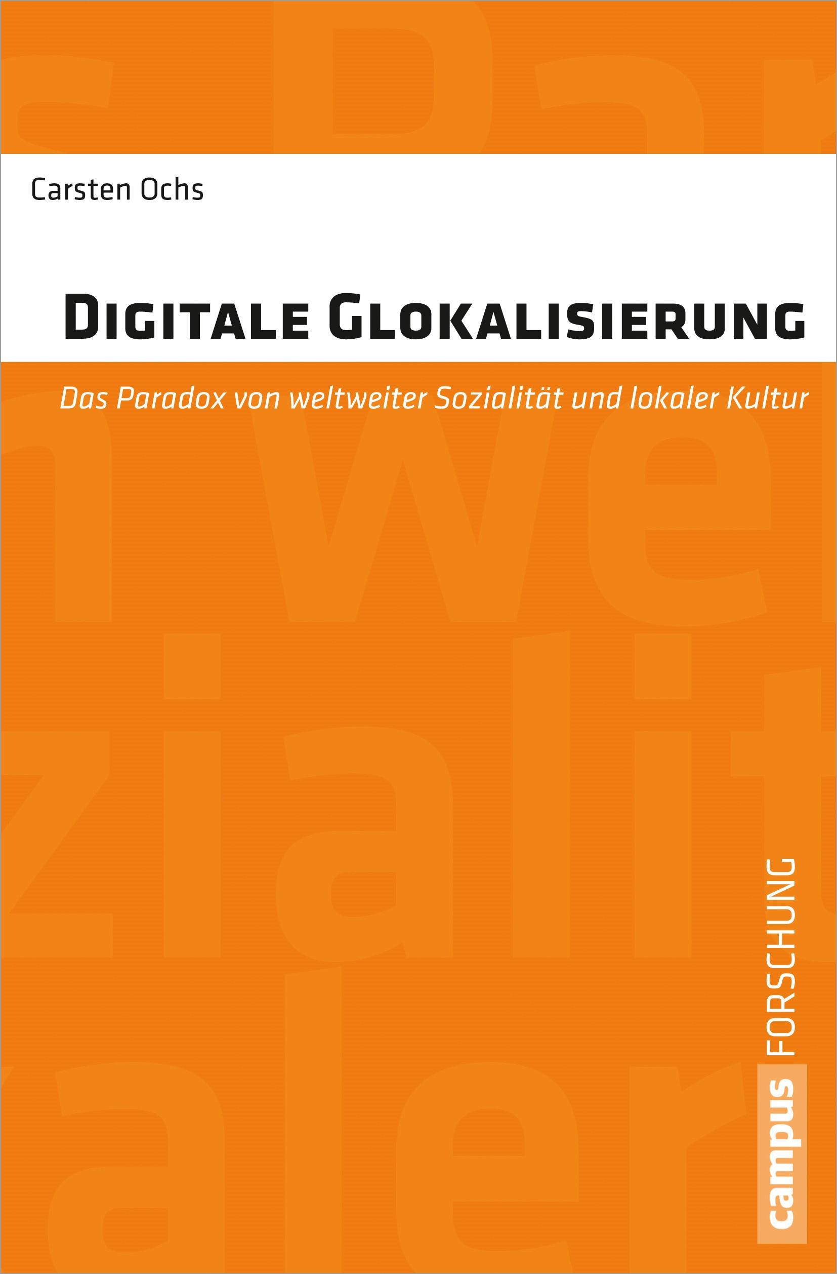 Abbildung von Ochs | Digitale Glokalisierung | 2013
