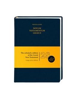 Abbildung von Aland / Institut für Neutestamentliche Textforschung, Münster / u. a. | Novum Testamentum Graece (Nestle-Aland) | 28., rev. Auflage 2012 | 2014 | Großdruckausgabe