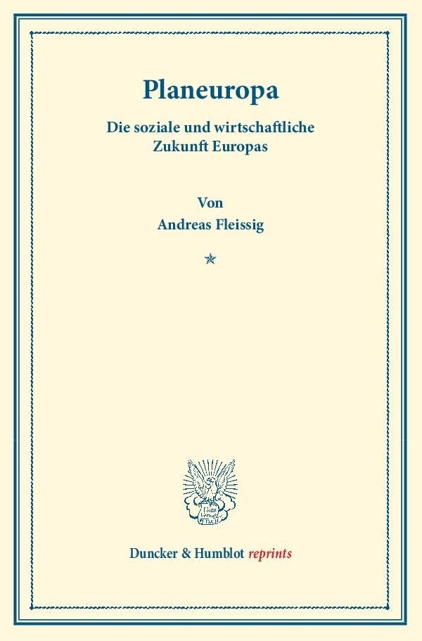 Abbildung von Fleissig | Planeuropa | Nachdruck der Auflage von 1930 | 2013