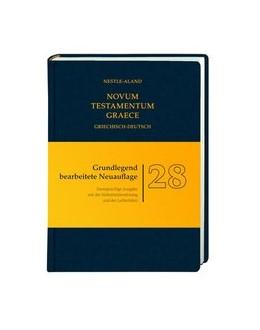 Abbildung von Aland / Institut für Neutestamentliche Textforschung, Münster | Novum Testamentum Graece (Nestle-Aland) | 1. Auflage | 2013 | beck-shop.de