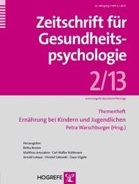 Abbildung von Warschburger | Ernährung bei Kindern und Jugendlichen | 2013