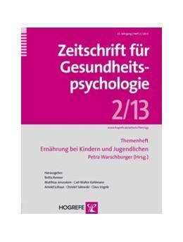 Abbildung von Warschburger   Ernährung bei Kindern und Jugendlichen   1. Auflage   2013   beck-shop.de