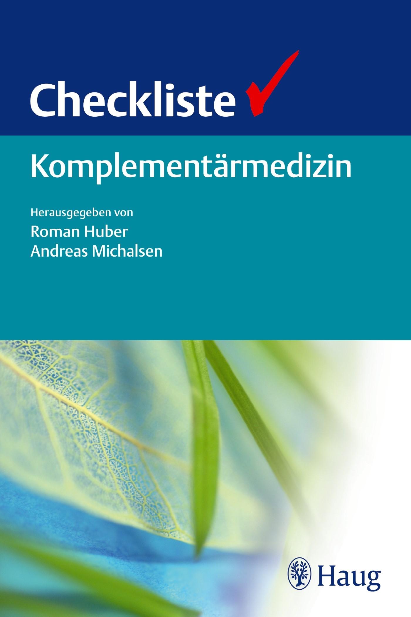 Abbildung von Huber / Michalsen | Checkliste Komplementärmedizin | 2014