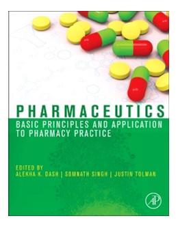 Abbildung von Dash / Singh / Tolman | Pharmaceutics | 2013 | Basic Principles and Applicati...