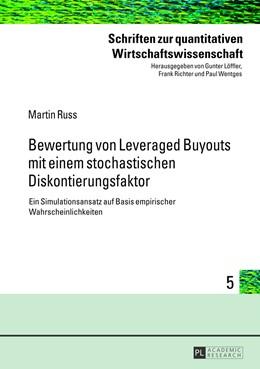 Abbildung von Russ | Bewertung von Leveraged Buyouts mit einem stochastischen Diskontierungsfaktor | 1. Auflage | 2013 | 5 | beck-shop.de