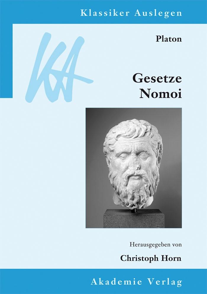 Abbildung von Horn   Platon: Gesetze/Nomoi   2013