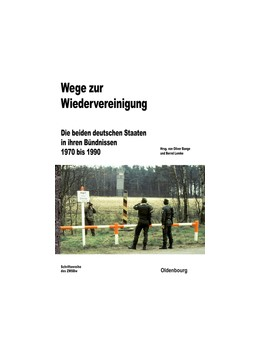 Abbildung von Bange / Lemke | Wege zur Wiedervereinigung | 2013 | Die beiden deutschen Staaten i... | 75